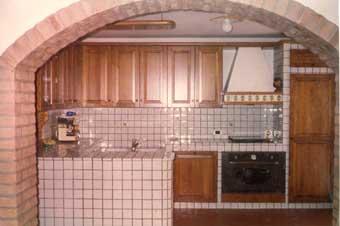 cucina - Cucina In Muratura Con Penisola